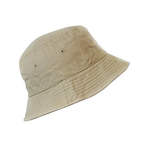cotton bucket hat packable summer travel hat