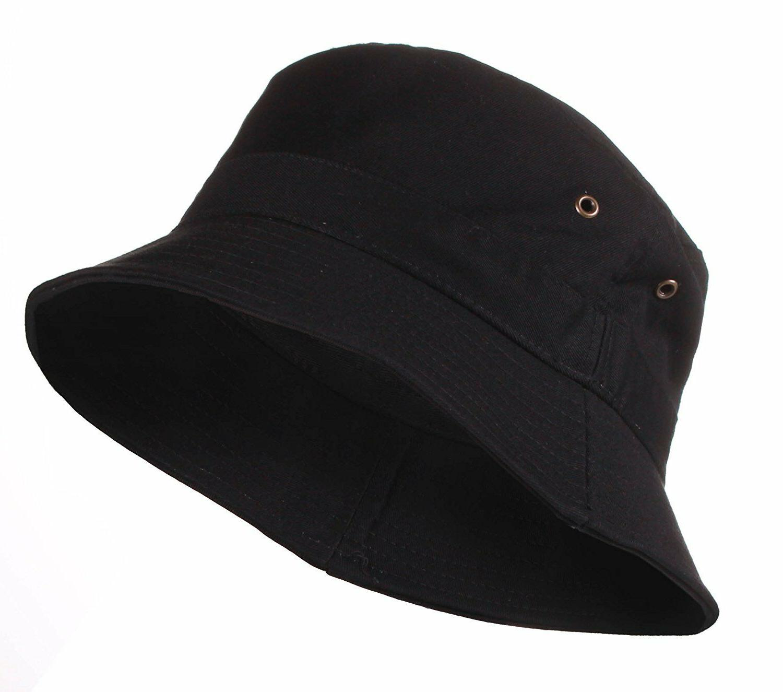 cotton fishing hunting summer bucket cap hat