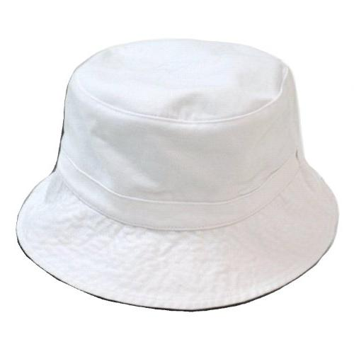 cotton unstructured polo style bucket hat large