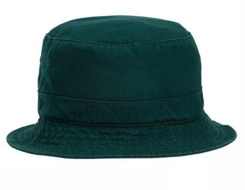 Polo Crest Cotton Hat Golf Beach Red L/XL