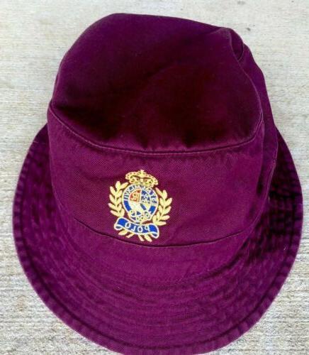Polo Ralph Crest Cotton Twill Golf Beach Red L/XL $59