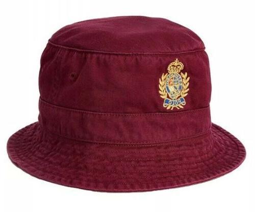 Cotton Twill Bucket Golf Beach Red /GREEN L/XL $59