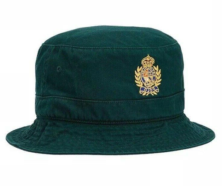 crest cotton twill bucket hat golf beach