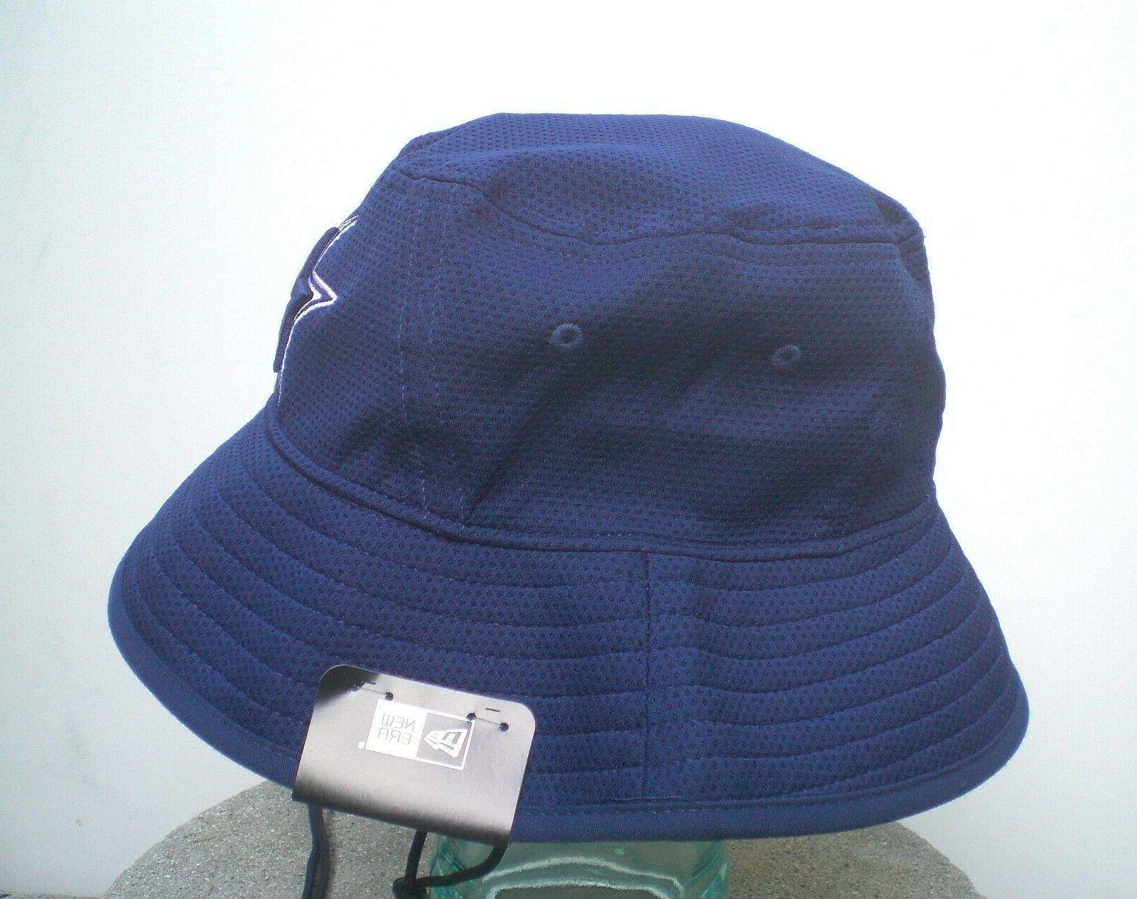 Dak Prescott Cowboys New Era Blue Bucket Hat