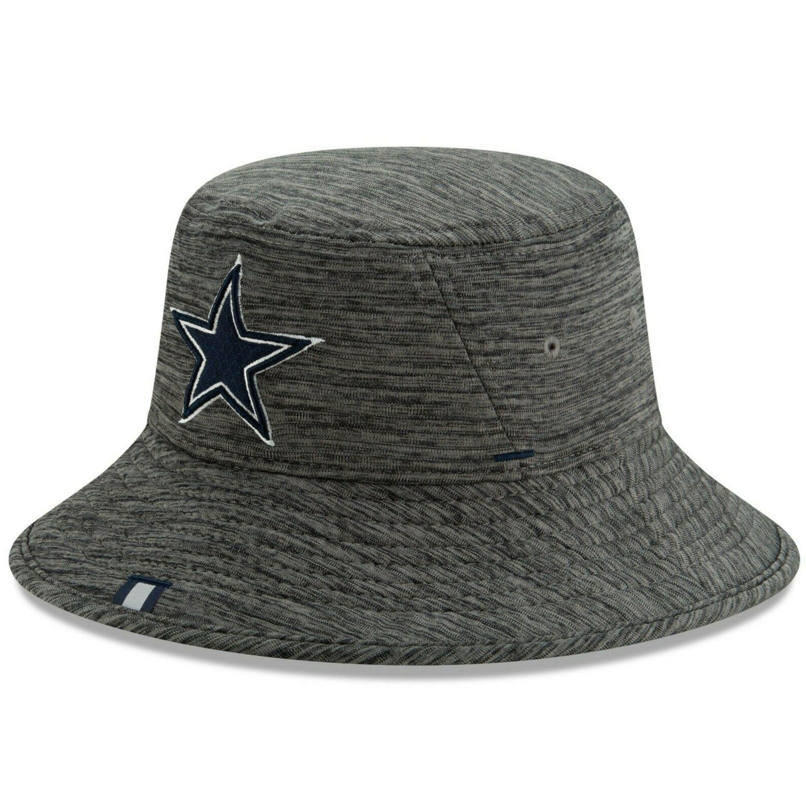 Dallas Cowboys New Graphite Bucket Hat - 2019 Free - OSFM