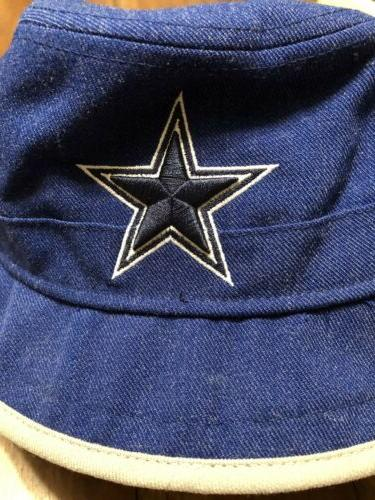 New Era Dallas Bucket Hat Blue Team Headwear NWT