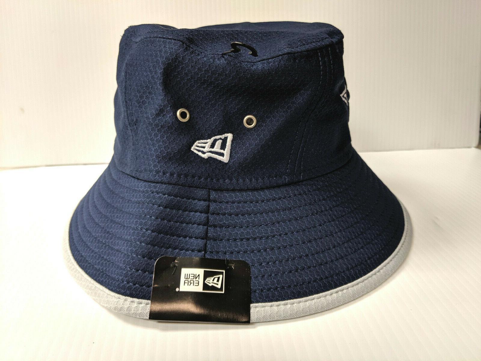 Dallas Cowboys Cap Navy Team Bucket Hat NFL