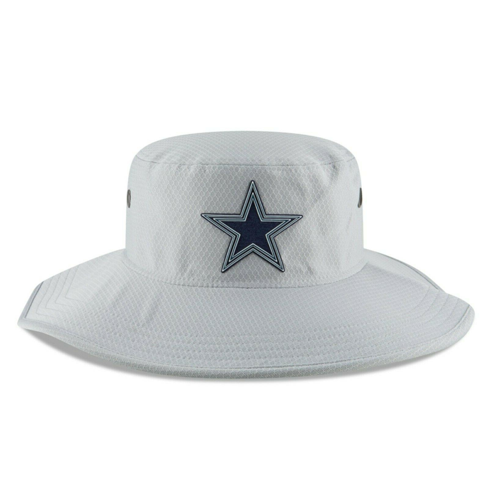 dallas cowboys nfl panama gray training bucket