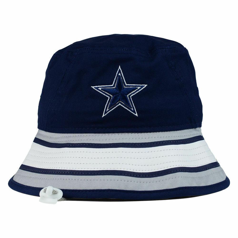 Dallas NFL Team Stripe Bucket Era Training Camp Men's Hat