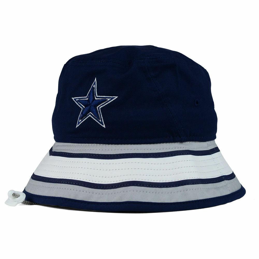 Dallas Cowboys NFL Stripe Bucket New Training Camp Men's Hat