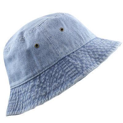Bucket - Hat Denim Washed cotton Hat