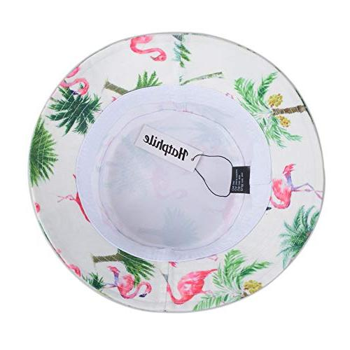 Hatphile Print Hat Pink Palm Tree
