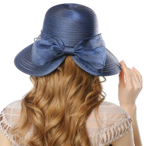 Elegant Women Derby Church Cloche Bucket Bowler Cap