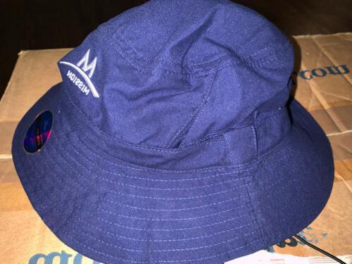 MISSION bucket hat NAVY BLUE Neck Endura