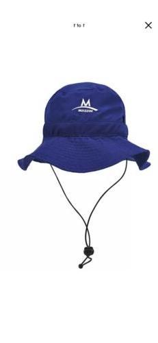 MISSION hat NAVY Neck Straps Endura