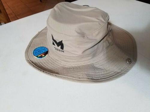 Mission Enduracool Sand Tan Khaki Colored Bucket Size