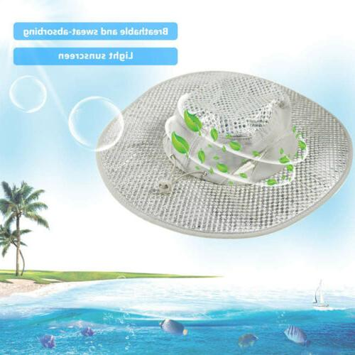 Evaporative Cooling Bucket Hat Hydro Cooler Caps