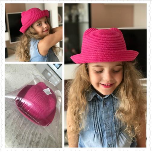 Fashion Ears Hats Baby Bucket Hat Children