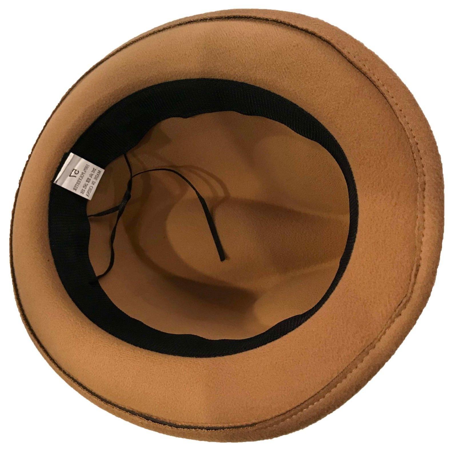 FEDORA BUCKET CAP with Band :