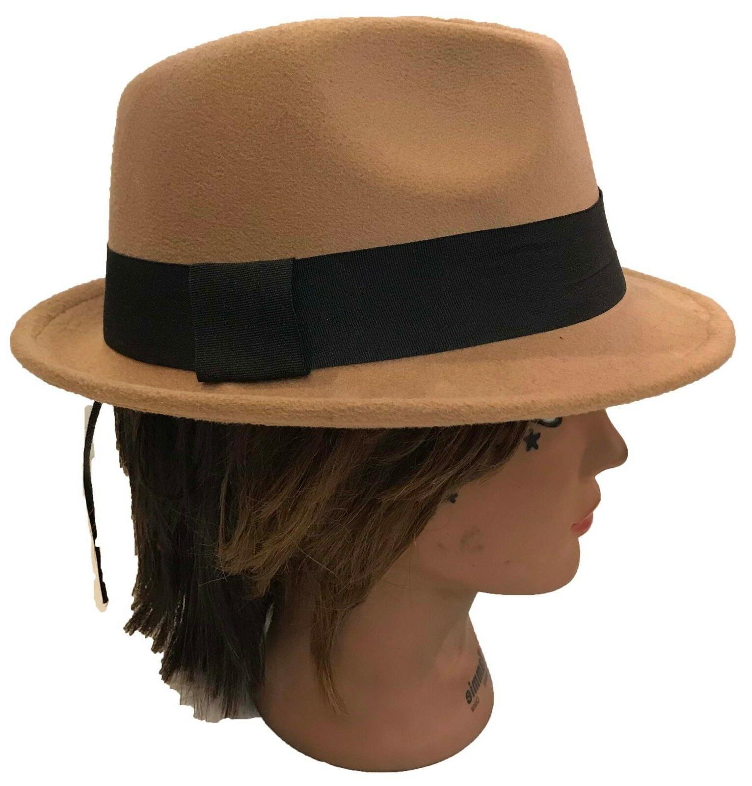 FEDORA GANGSTER BUCKET HAT MEN CAP Band :