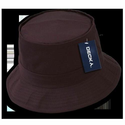 Fishermans Bucket Hat Cap ACU Black 450