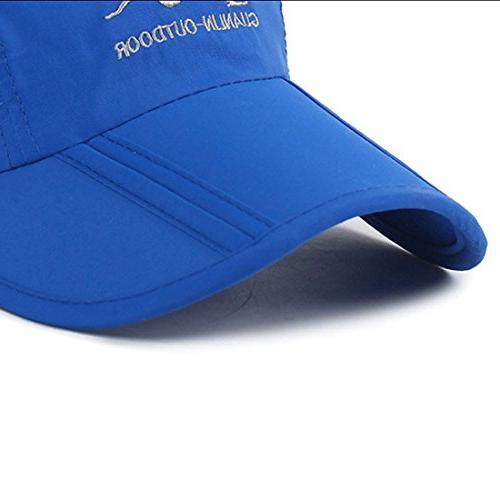 Panegy Outdoor Cap UPF Mesh Big Brim Bucket Boonie Solid Sring Baseball Sports Hat