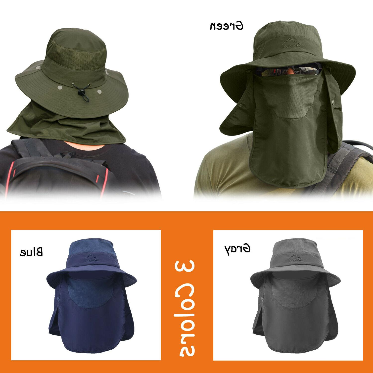 Fishing Cap Neck Cover Face For