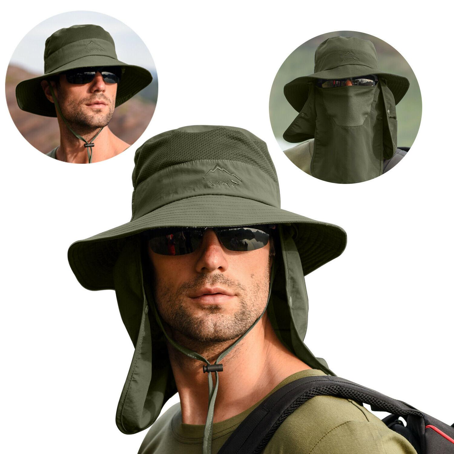 Fishing Cap Sun UV Protection Neck Face For