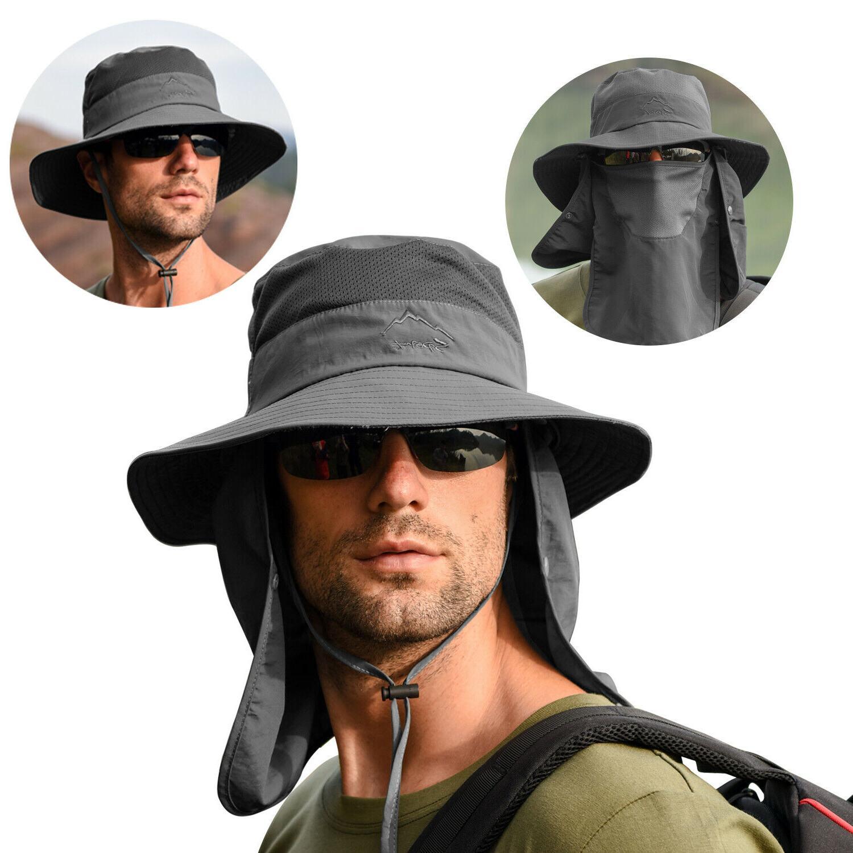 Fishing Fisherman Cap UV Protection Neck For Men