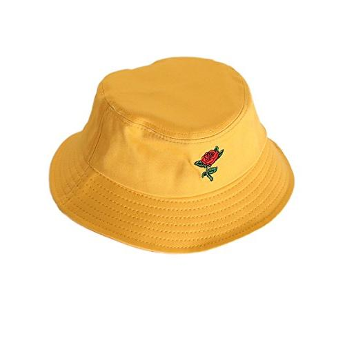 flat top bucket hats breathable sun protection