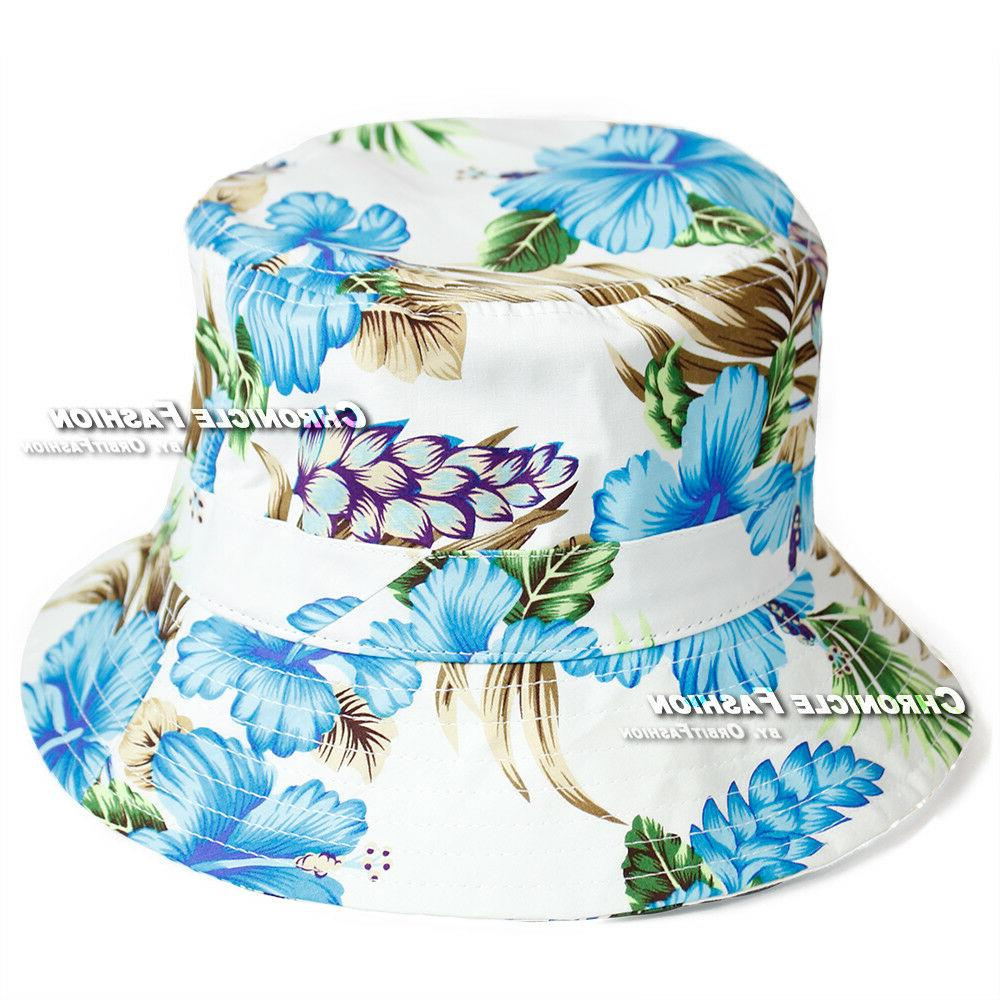 Floral Boonie Cap Camping Fishing