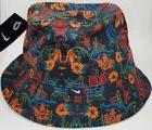 Nike Floral Bucket Hat Cap Size L 724556-010