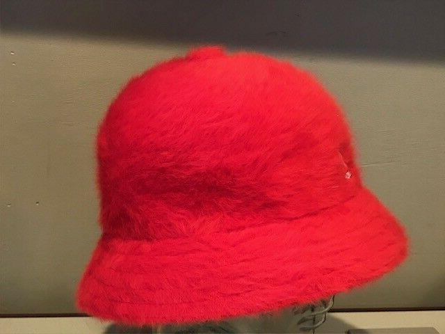 Kangol Casual RED Old School Bucket Fuzzy