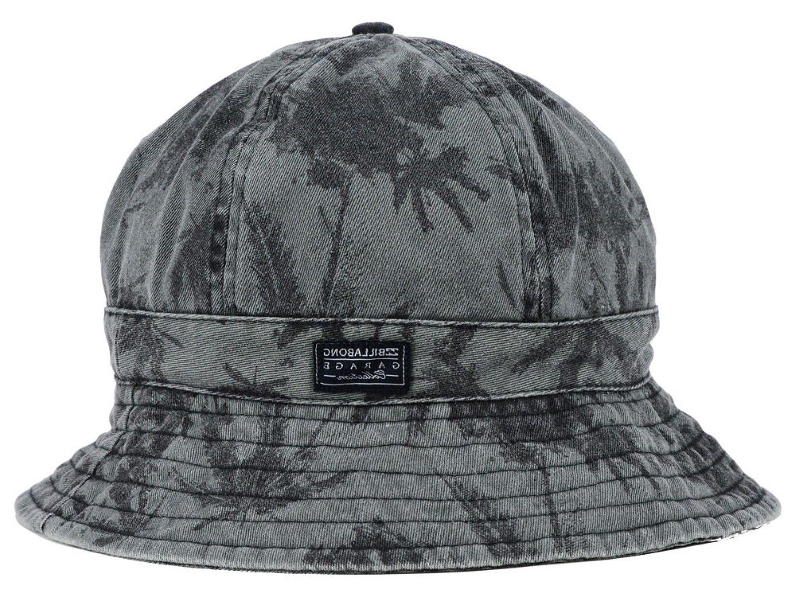 BILLABONG Dyed Canvas Gray/Black Bucket Hat