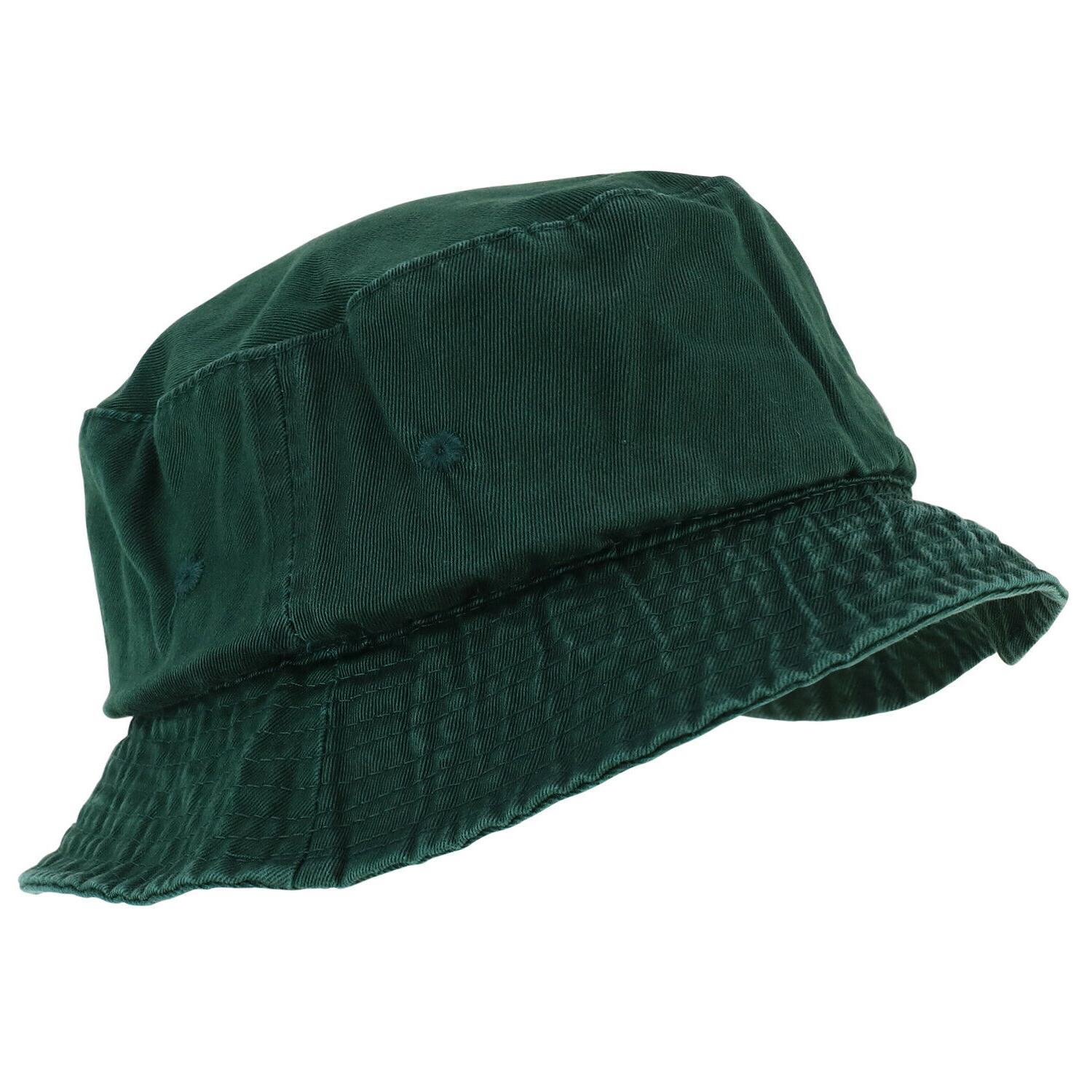 garment washed cotton twill casual bucket hat
