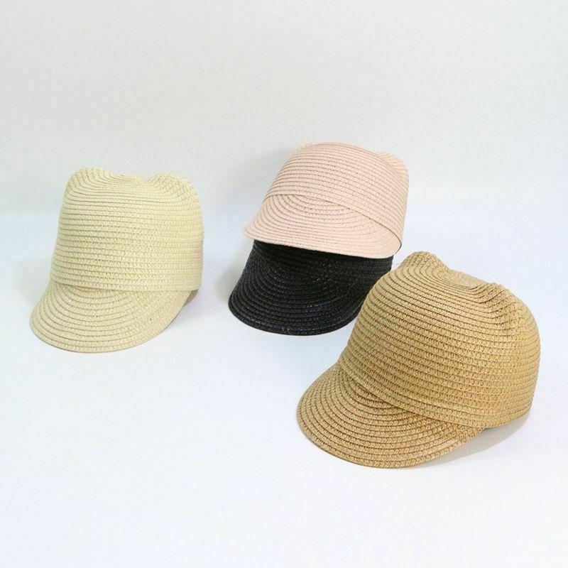 Girls Beach Straw Hats Summer