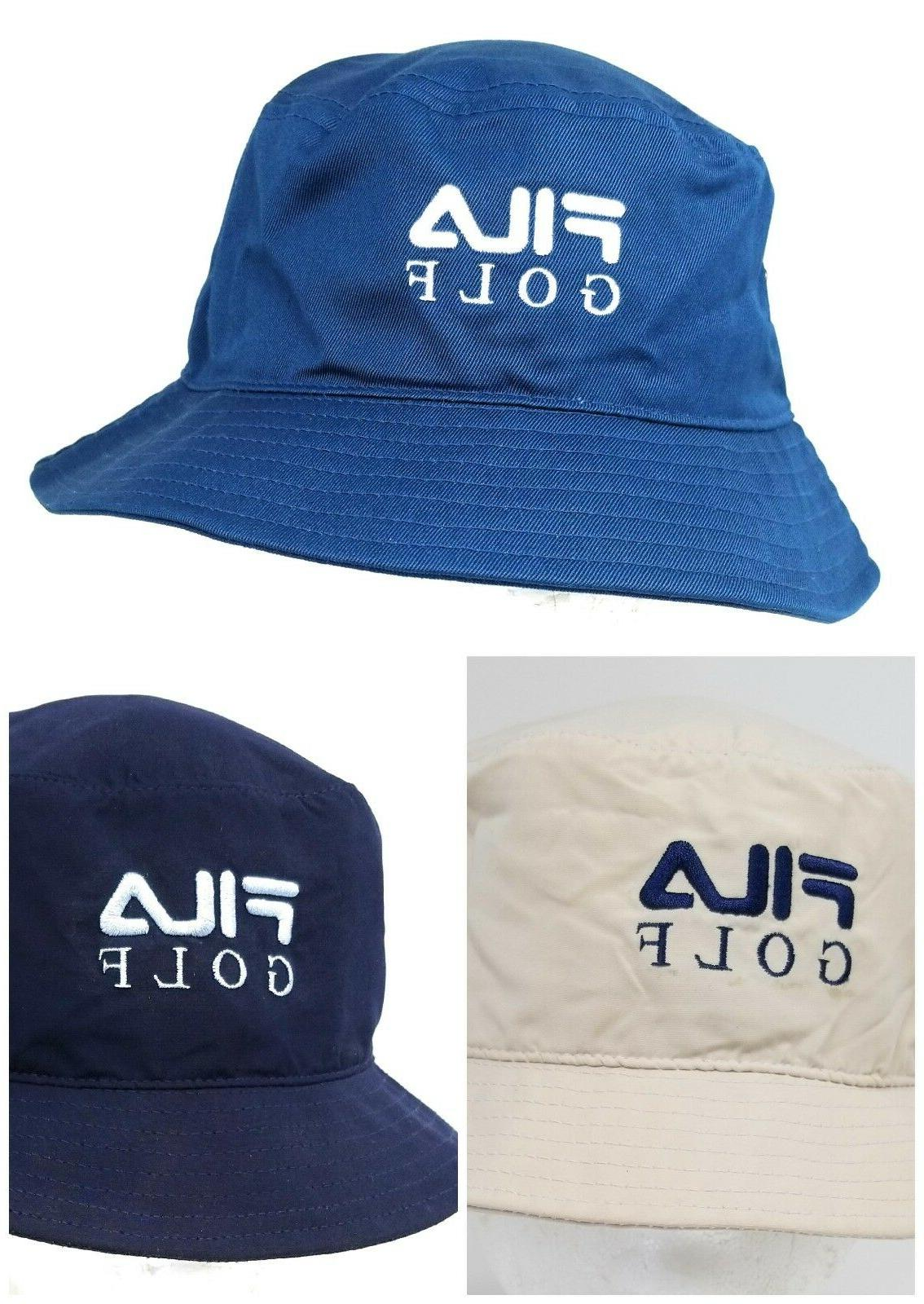 FILA Golf Sun Protection Bucket Hats