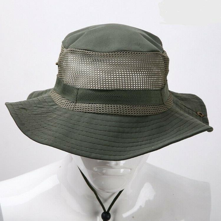 HAT BOONIE FISHERMAN ~ Cap Bucket Fishing Fashion Plaid Men