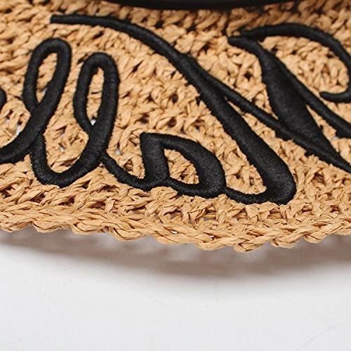 Hat folding straw hat sun hat hat,Camel