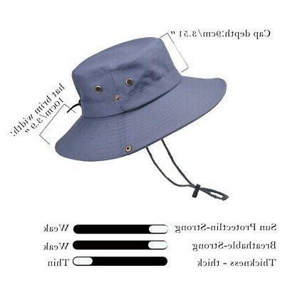 Hats Brim Men's Hat Bucket Outdoor Fishing Cap