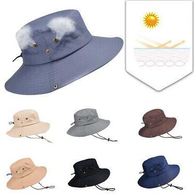 Hats UV Wide Brim Men's Outdoor Cap