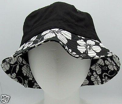 DECKY Hawaiian Hat Boonie L/XL Black