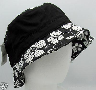 DECKY Floral Bucket Hat Fishing Cap L/XL 100%Cotton