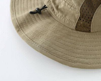 Home Kids Safari Breathable Bucket Hat Hat