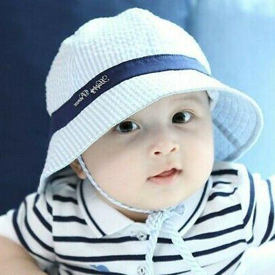 Toddler Baby Boy Summer Sun Beach Visor Cap