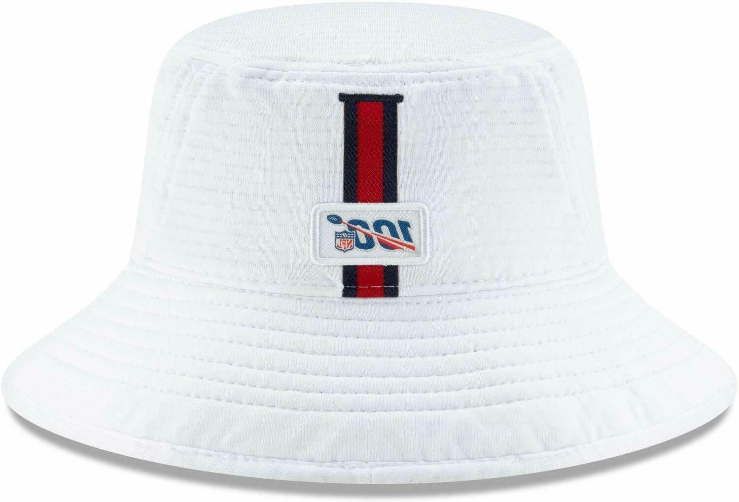 HOUSTON NFL NEW ERA ON WHITE HAT