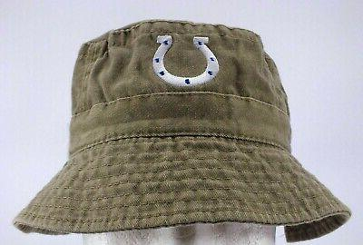 indianapolis colts nfl vintage fishing bucket hat