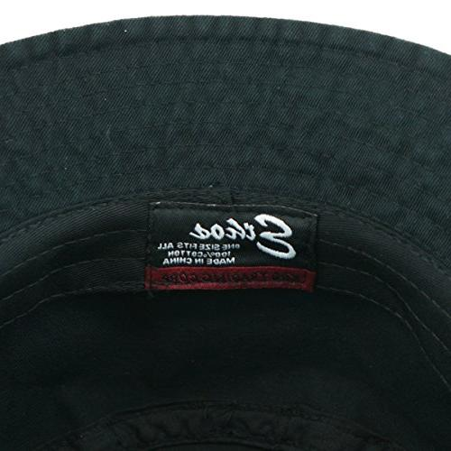KBETHOS KB-BUCKET1 100% Washed Cotton Bucket Hat Outdoor Cap