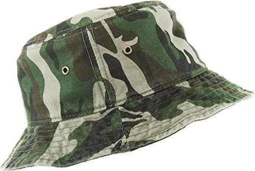 KBM-500 Packable Summer Cotton Unisex Hat Women and Men