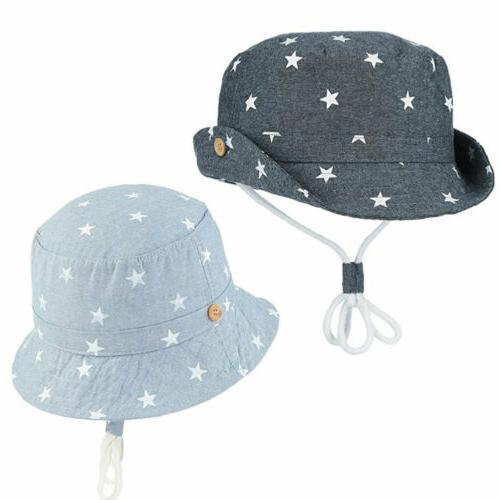 Kid Hats Newborn Girl Summer Bucket
